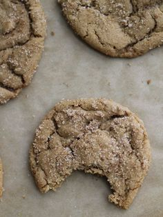 Sugar cookies get an edgy twist in these dark and chewy brown butter brown sugar cookies
