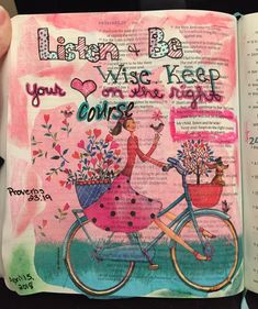 """""""My child, listen and be wise. Keep your heart on the right course"""" Proverbs 23, Knowledge, Bible, Bullet Journal, Children, Heart, Journaling, Instagram, Biblia"""