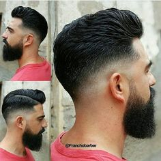 or  this hairstyle ? ✂ Cc @franchobarber . . . . . . . #thedapperhaus #mensfashionreport #mensfashion #mensstyle #menwithstyle #menwithclass #fashionpost #gentleman #classy #dapper #menswear #fashion #mensfashionblogger #style #instagood #picoftheday #boss  #sartorial #instastyle #beard #moda #motivation #upscale #instalike #hairstyle #menshair #hair #haircut #hairoftheday