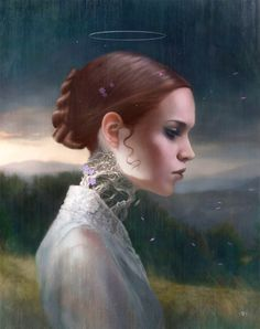 CG ILLUSTRATOR: Tom Bagshaw ~ (For his personal work Tom Bagshaw has developed a highly rendered digital painting style) Illustrations, Illustration Art, Caricatures, Tom Bagshaw, Art Visionnaire, Pin Up, Gq, Portraits, Pop Surrealism