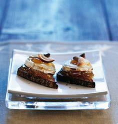 Vuohenjuusto-chutneypalat | K-ruoka #joulu #cocktailpalat
