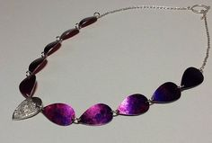 Just finished this collection in aluminium and sterling silver. Centre piece is reticulated silver.