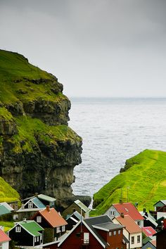 The colors of the Faroe Islands.