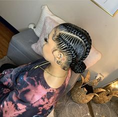 Summer Hairstyles, Braided Hairstyles, Pressed Natural Hair, Girl With Pigtails, Hair Type, Natural Hair Styles, Dreadlocks, Style Inspiration, Beauty