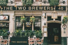 closings: The Two Brewers by jennifée on Flickr.  My blog posts