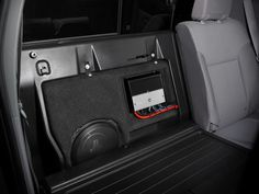 Find the Toyota Tacoma Stealthbox® and other Vehicle-Specific Subwoofer Systems at the at the official JL Audio site. Toyota Tacoma Interior, 2014 Toyota Tacoma, Toyota Tacoma Double Cab, Tacoma 2010, Custom Toyota Tacoma, 2018 Tacoma, Toyota Tacoma Accessories, Car Audio Systems, Security Systems