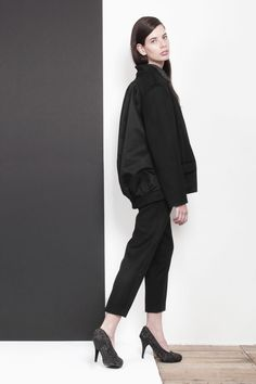ARMANDO TAKEDA 2015-16AW LOOK23 back style #blacksuit