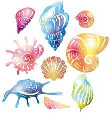 Cute cartoon seashells vector | Seashells | Pinterest ...