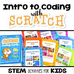 Scratch coding cards are a simple and straightforward way to introduce programming to elementary-aged kids. Start programming with Scratch today!
