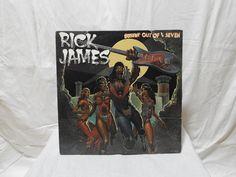 Vinyl Records and Vintage T-Shirts. Rick James, Vintage Records, Vinyl Records, Cover, Art, Art Background, Kunst, Performing Arts, Art Education Resources