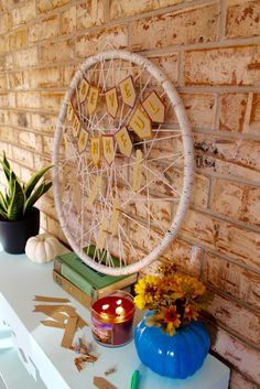 Count your blessings with a blessings catcher! You'll never believe what this is made of!
