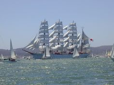 coast guard tall ship | Tall ships on the Bay - 7/2/99