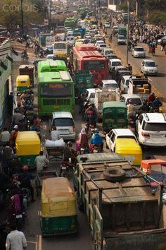INDIA - DELHI -  Traffic Congestion