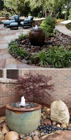 Nice 25 Landscaping Ideas for Front Yards https://ideacoration.co/2018/02/24/25-landscaping-ideas-front-yards/ In such a scenario, a container garden is your best choice. If there's an outdoor garden, extending behind or in front of your house, you might constantly consider improving it further #LandscapingFrontYard