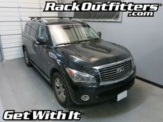 Rack Outfitters - Infiniti QX80 Thule Rapid Crossroad BLACK AeroBlade Roof Rack '14-'16*, $364.85 (http://www.rackoutfitters.com/infiniti-qx80-thule-rapid-crossroad-black-aeroblade-roof-rack-14-16/)