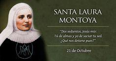 Hoy se celebra a Santa Laura Montoya, la primera Santa colombiana Santa Laura Montoya, San Jose, Intuition, Catholic, Religion, Block Prints, Party, Catholic Saints, Ruins