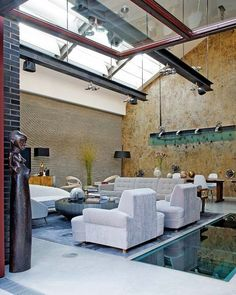 Carpentry Mill Converted To Magnificent Industrial Loft In London