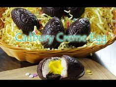 Cadbury Creme Egg Recipe - Gretchen's Bakery