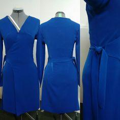 Woman's Fashion -Custom designed wrap dress