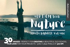 Monday Mania! Free Graphics!! Old Film-Look Nature Images Vol One by Retroshutter on @creativemarket