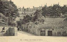 Les arènes de Lutèce en 1900 Paris France, Paris 1900, Monuments, Rive Gauche, Vintage Paris, Belle Epoque, Versailles, Images, History