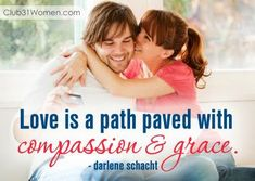 Best love Sayings & Quotes    QUOTATION – Image :    Short love quote – Description  Love is a path paved with compassion and grace.  Sharing is Sexy – Don't forget to share this quote with those Who Matter !  - #Love https://quotesdaily.net/love/quotes-about-love-love-is-a-path-paved-with-compassion-and-grace/