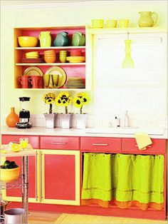 colorful kitchen decorating ideas | Kitchen Design Ideas which are Bright And Colorful : Colorful Kitchen ...