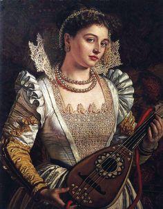 William Holman Hunt - Bianca - Worthing Museum and Art Gallery, United Kingdom.