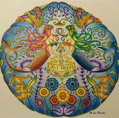 #inspiração #coloringbooks #livrosdecolorir #jardimsecreto #secretgarden #florestaencantada #enchantedforest #reinoanimal #animalkingdom #adultcoloring #johannabasford #lostocean #oceanoperdido