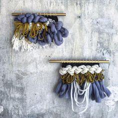 Woven Tapestry Twin Sisters Weaving loom