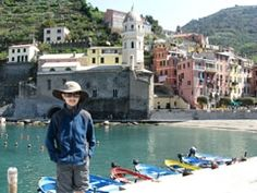 A kid-friendly Cinque Terre itinerary with details about which hikes are nice for families