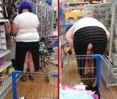 The 45 Funniest People of Walmart Photos #walmart #walmarthumor #peopleofwalmart