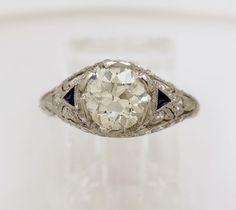 Sapphires and Diamonds....my favorite!!!