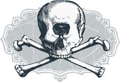 Cyclops skull Art Print