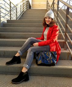 Over my high heels: Red Coat