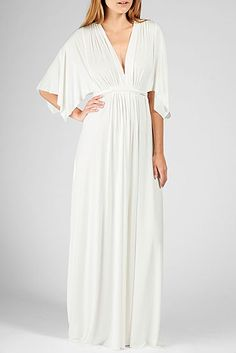 Rachel Pally Official Store, Long Caftan, white, Rachel Pally : Dresses : Long Dresses, 785