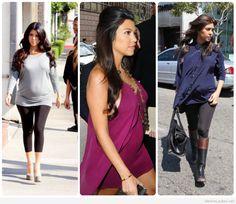 Chic maternity style photos