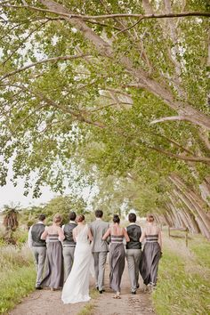 Beautiful grey #wedding! From http://greylikesweddings.com/1-real-weddings/color-real-weddings/grey/new-zealand-wedding/  Photo Credit: http://lavara.co.nz/