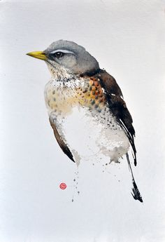 Fieldfare by Karl Mårtens