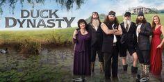 DUCK DYNASTY - Robertson Family