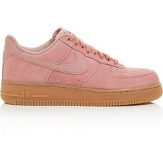 on sale 14539 2a7cd Nike Air Force 1  07 Se Trainers- Light Pink ( 100) ❤ liked on Polyvore  featuring shoes, sneakers, light pink, nike trainers, light pink shoes, nike,  ...