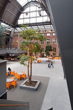 Politieacademie in Apeldoorn door Atelier Pro en Studio Leon Thier - alle projecten - projecten - de Architect