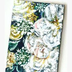 View Floral Paintings by KatieJobling on Etsy