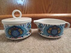 Villeroy & Boch Izmir Sugar Bowl and Creamer Set