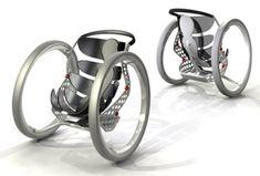 Trends Update - Fauteuil roulant à roues ellipsoïdales