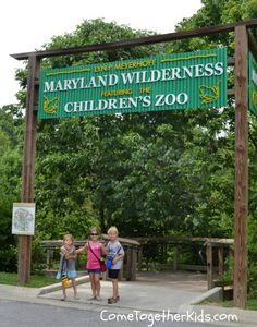 Come Together Kids: Maryland Zoo in Baltimore