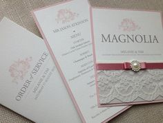 Wedding Stationary Loving the Lace?