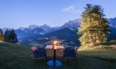 Hotel Paradies in Scuol, Switzerland #hotel #mountains #view #outdoor #romantic