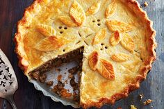 Réveillon Tourtière—When it's time for réveillon (a special feast on Christmas Eve in Quebec), this is the pie that welcomes everyone to the table. The super-flaky crust is loaded to the brim with a subtly seasoned meat filling.