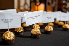 place cards -  Maria Angela Photography